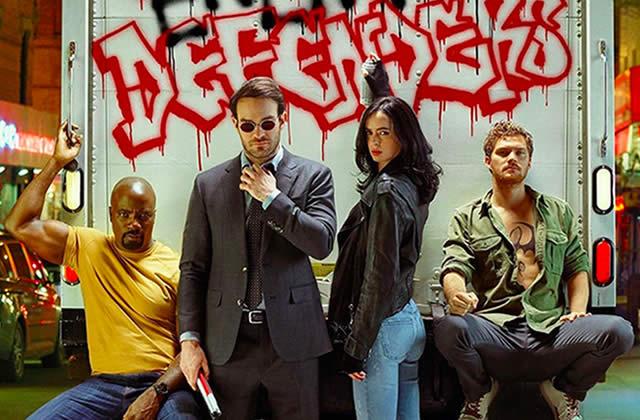 The Defenders unit Daredevil, Jessica Jones, Luke Cage et Iron Fist sur Netflix — Bande-annonce!