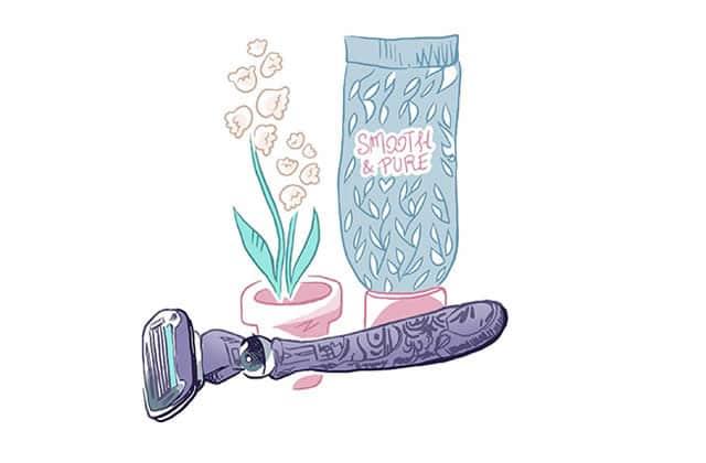 Le rasage, l'épilation, les idées reçues… et vous—L'enquête illustrée!