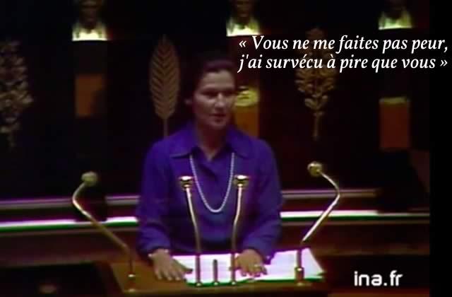 Simone Veil face à l'extrême-droite, un monument de courage dont il faut se souvenir