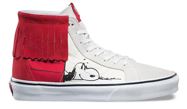 Snoopy et les Peanuts sont à l'honneur chez Vans