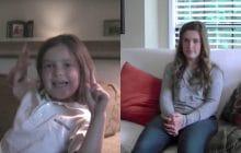 Un père filme sa fille à chaque rentrée scolaire du CP à la terminale