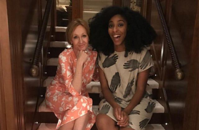 Imaginez:vous avez un message privé, et c'est J. K. Rowling qui vous complimente…