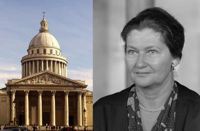 Simone Veil reposera bien au Panthéon