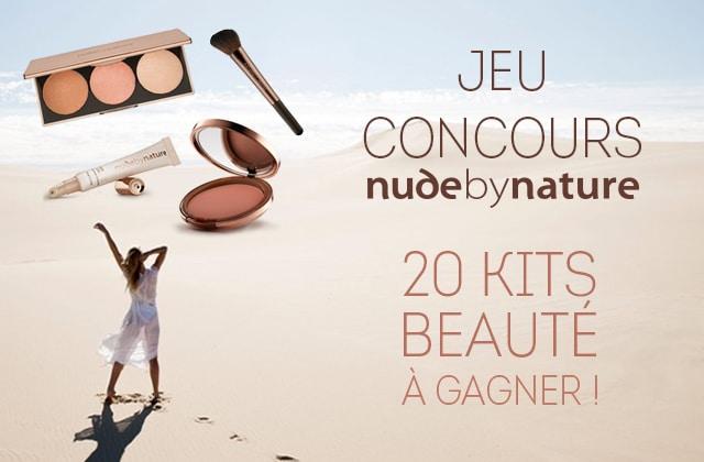 JEU-CONCOURS – Gagne ton kit de maquillage bon pour la peau et cruelty free avec Nude by Nature