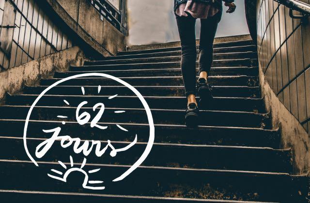 Te repose pas sur tes acquis, cours après les progrès #62jours