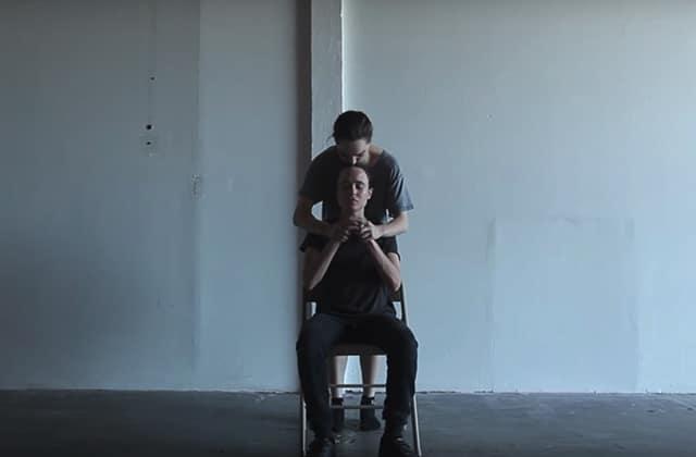 L'émotion est maximale dans la chorégraphie d'Ellen Page et Emma Portner