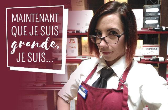 Sarah, passionnée de vin devenue… caviste !
