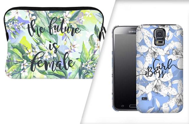 Bon plan:protège ordi & smartphone avec ces coques féministes et badass!