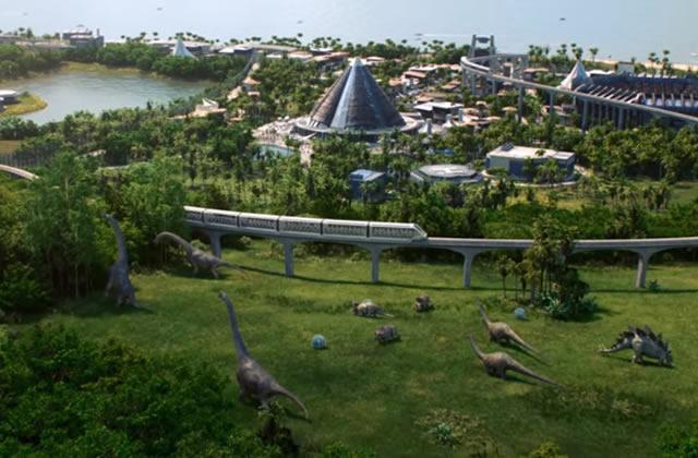 Dans Jurassic World Evolution, prends les commandes de Jurassic Park!