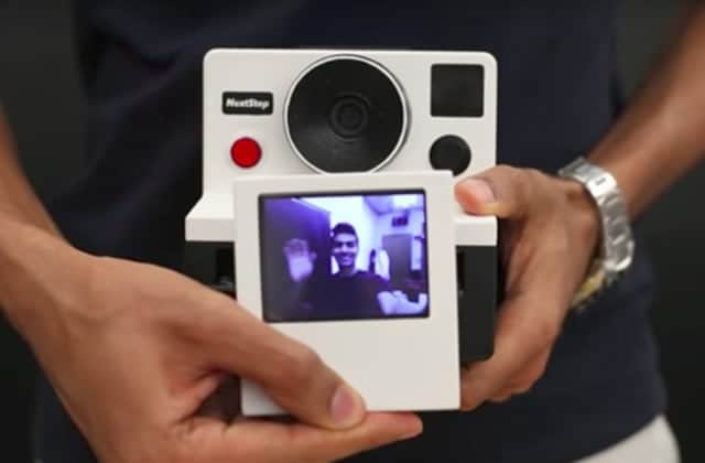 Un mec a inventé un Polaroid qui imprime des gifs animés (et il nous explique comment le faire)