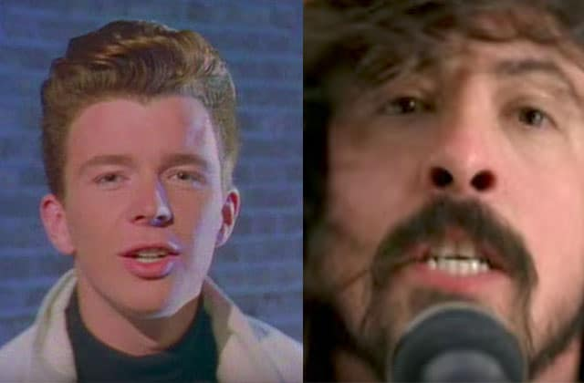 Foo Fighters invite Rick Astley sur scène pour chanter Never Gonna Give You Up dans une version échevelée