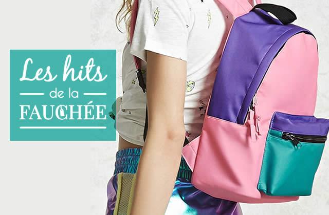 Des sacs pour la rentrée (et pas que celle des classes)—Les 10Hits de la Fauchée#243
