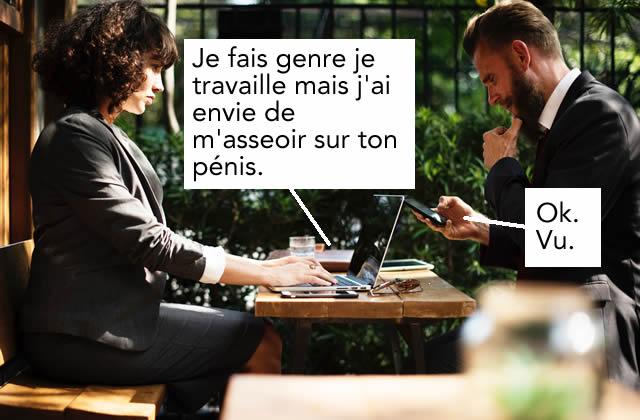 Sextos, amour au téléphone et sexe par Skype: «on sous-estime beaucoup lapuissance des mots»