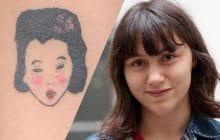 Street Tattoos — Lucie et ses tatouages aux références artistiques