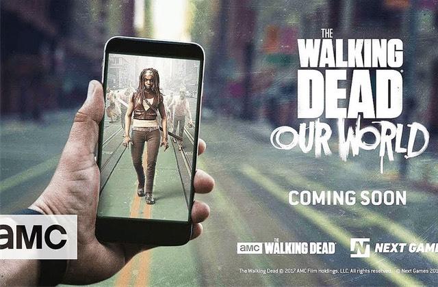 Bientôt un jeu mobile The Walking Dead aux airs de Pokémon Go?