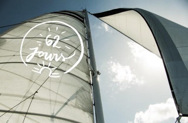 Contre vents et marées, ajuste tes voiles #62jours