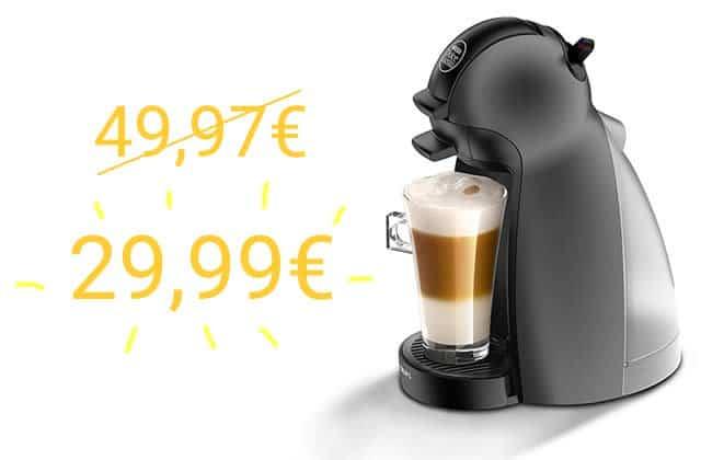 Le bon plan du jour:la Dolce Gusto à 29,99€ (au lieu de 50€!)