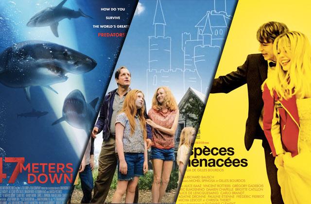 3 films à voir cette semaine: un drame, de la survie et encore un drame