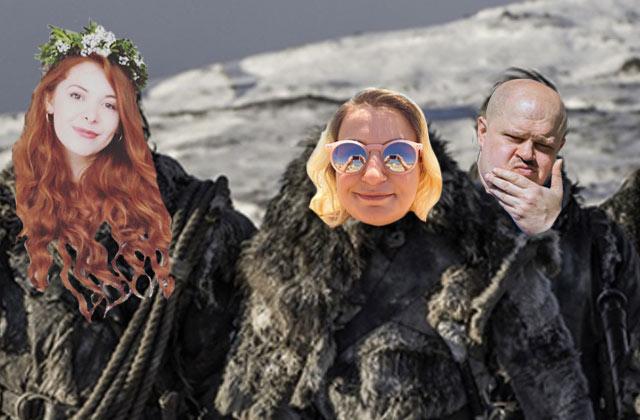 On débriefe Game of Thrones saison7 avec Teki Latex & Alison!