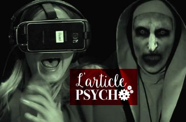Pourquoi aime-t-on autant les histoires effrayantes, les films d'horreur, tout ce qui fait peur?