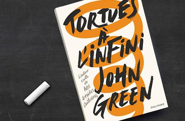 Tortues à l'infini, le nouveau roman de John Green, est sorti!