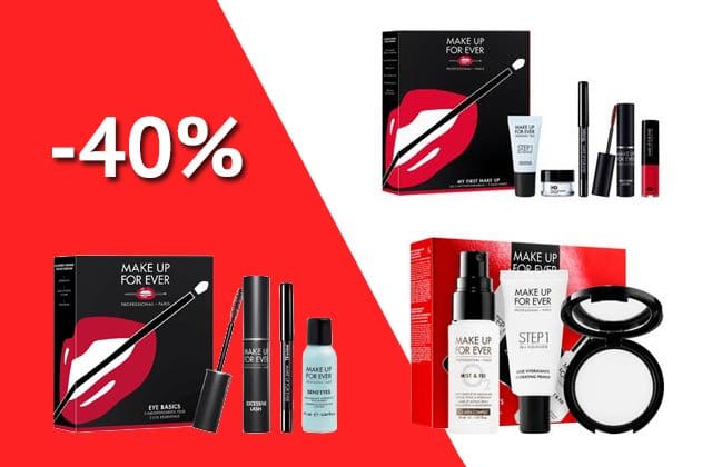 Bon plan beauté : les coffrets Make Up For Ever en (belle) promo !