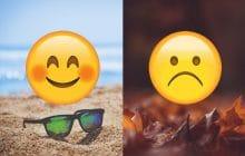 9 preuves que l'automne c'est nul alors que l'été c'est bien