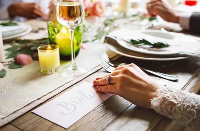 Le mariage avec repas végane, c'est possible et c'est très bon!