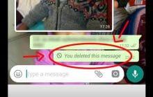 Vous pourrez bientôt annuler l'envoi d'un message sur Whatsapp, voici comment