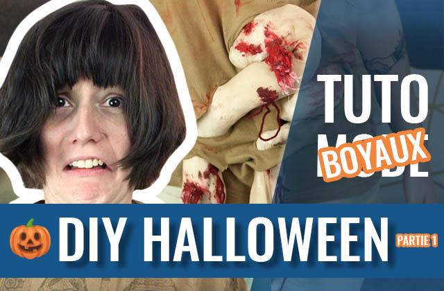 Le DIY costume d'Halloween à base de collants, pour afficher tes boyaux !