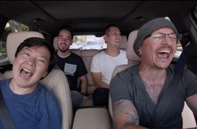 Le Carpool Karaoke de Linkin Park, vibrant hommage à Chester Bennington