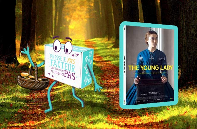 En cadeau dans 50 box madmoiZelle d'octobre : The Young Lady en DVD !