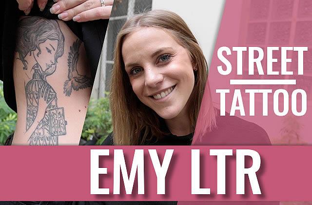 Emy LTR fait son Street Tattoos !