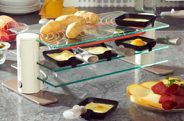 8 appareils à raclette pas chers pour un hiver qui sent bon le fromage fondu