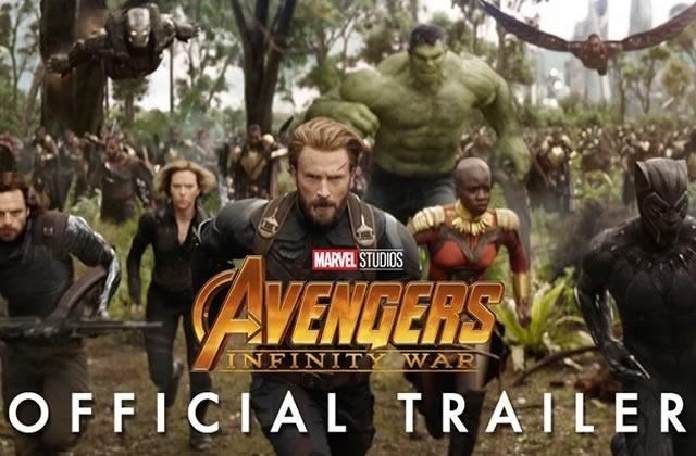 Avengers:Infinity War a son premier trailer, et les héros s'en vont en guerre…
