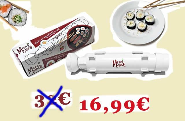 Le kit «bazooka à makis» à 16,99€ (-47%), le bon plan du jour!