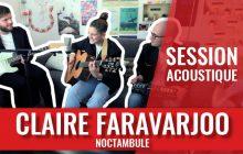 La voix singulière de Claire Faravarjoo se pose sur le titre «Noctambule»