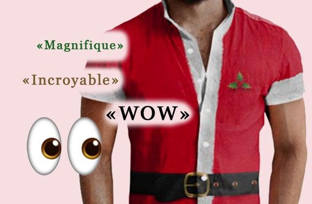 Les combishorts de Noël pour hommes, meilleure et pire chose au monde