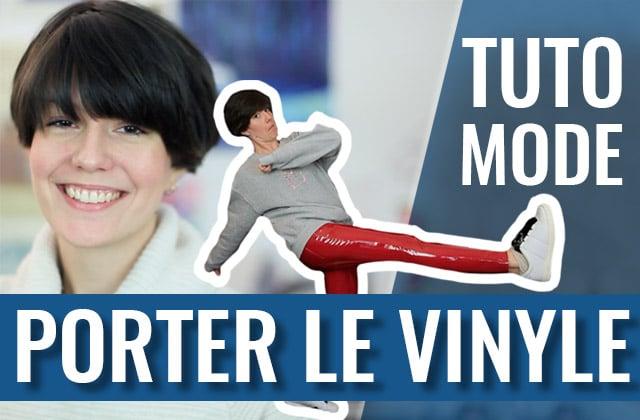 Comment porter le vinyle sans faire dominatrice ?