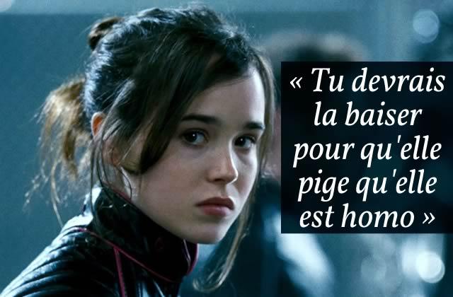 Ellen Page dénonce le harcèlement sexiste et homophobe qui gangrène Hollywood
