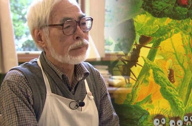 Hayao Miyazaki sort ENCORE de sa retraite pour un nouveau film!