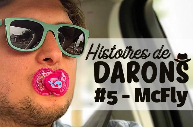 McFly comme vous ne l'avez jamais entendu dans Histoires de Darons, le podcast de Fab sur la paternité