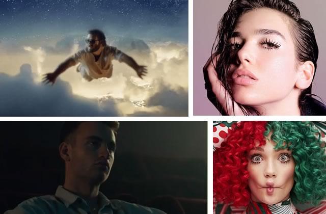 Les nouveautés musicales de la semaine: Dua Lipa, Sia, Lomepal…