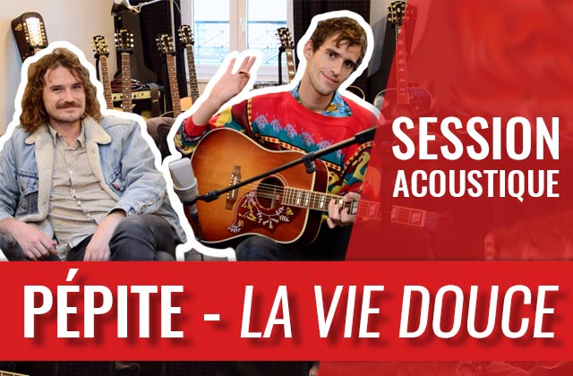 L'enchanteur morceau «La Vie Douce» joué par Pépite en acoustique!
