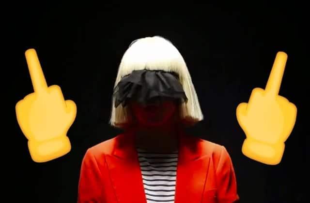 Quelqu'un voulait vendre une photo de Sia nue… alors elle l'a publiée elle-même!