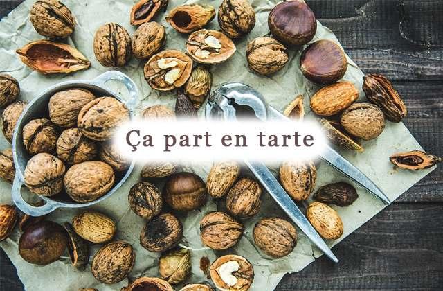 Recette de tarte aux noix et beurre de cacahuètes pour l'automne