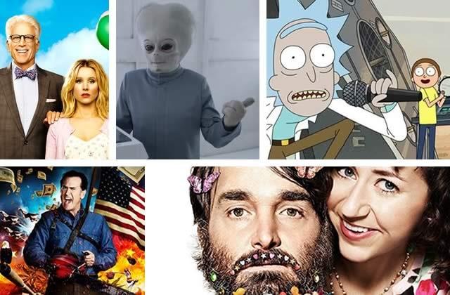 5 séries comiques à découvrir en cette fin 2017