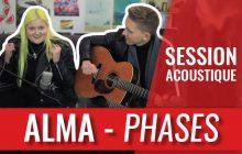 La brillante ALMA interprète «Phases» en acoustique!