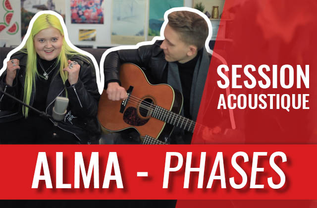 La brillante ALMA interprète « Phases » en acoustique !