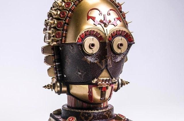 Un artiste réalise des figures Star Wars… à partir de sacs Louis Vuitton